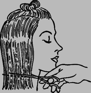 Haarschnitt Damen lang