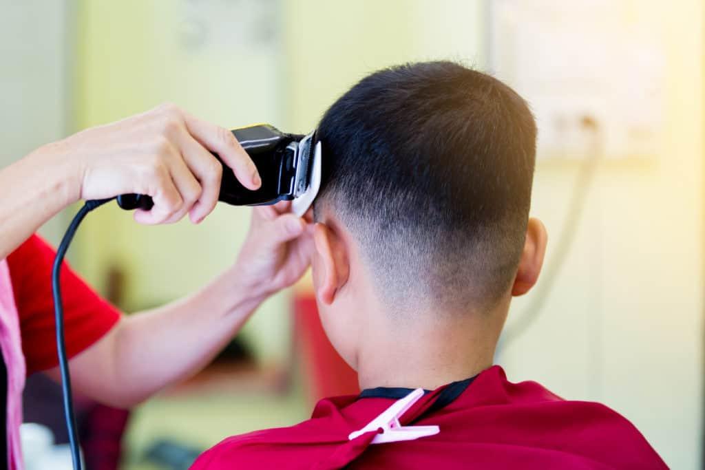 Kinder Haarschnitt,Coiffure pour garçons